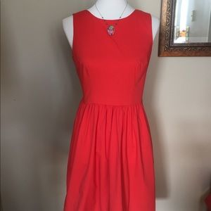 NWT PIM & LARKIN open back fit and flare dress.